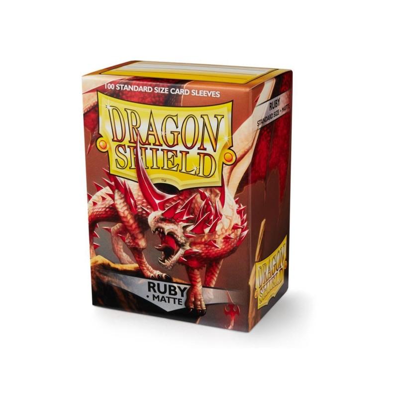 mighty-games-Matte Dragon Shield pockets (x100)
