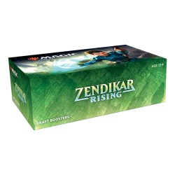Box of 36 Draft Boosters Zendikar Rising