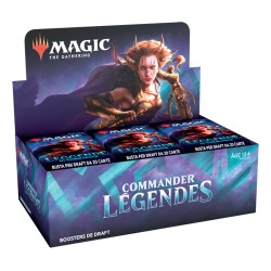 Boîte de 24 Draft Boosters Commander Legends