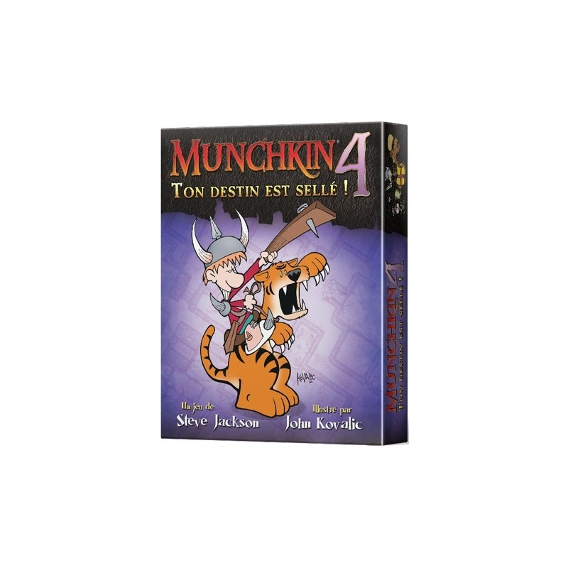 mighty-games-Munchkin 4 - Your Destiny is Sellé!