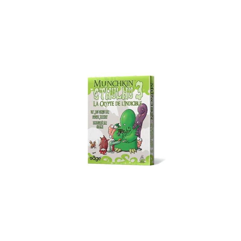 mighty-games-Munchkin Cthulhu 3 - The Crypt of the Unspeakable