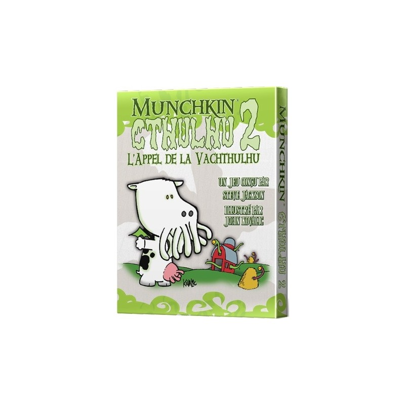 mighty-games-Munchkin Cthulhu 2 - The Call of the Vachthulhu