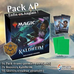 mighty-games-1x Prerelease Pack Kaldheim - 2 Kaldheim Boosters - 50 sleeves