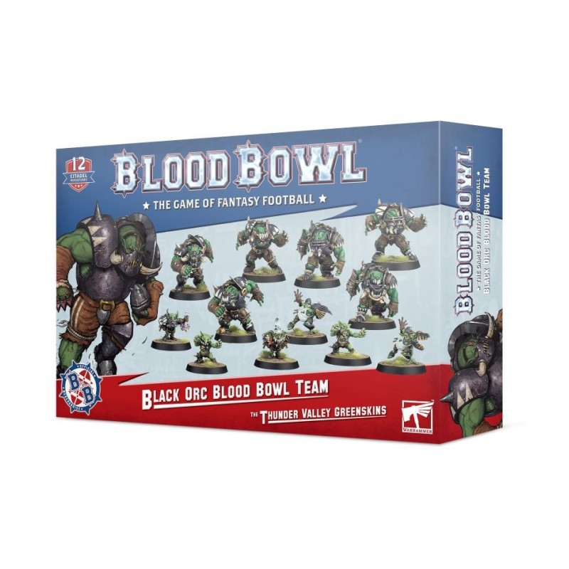 mighty-games-Black Orc Blood Bowl Team: The Thunder Valley Greenskins