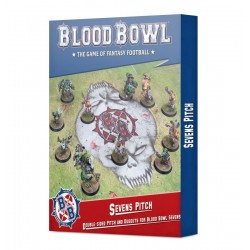 mighty-games-Sevens Pitch: Double-sided Pitch and Dugouts for Blood Bowl Sevens