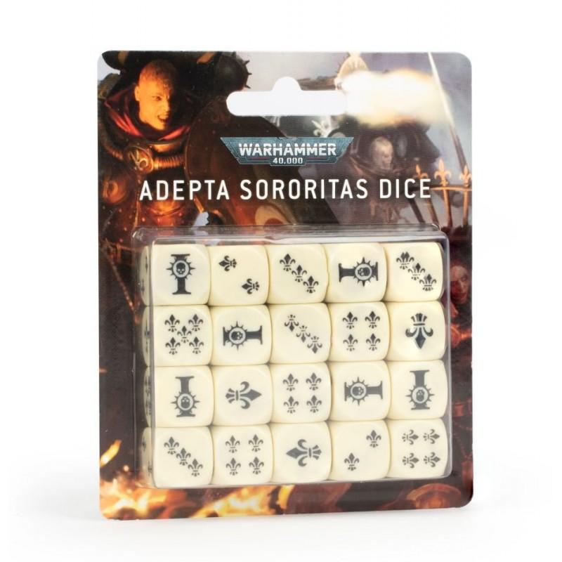 mighty-games-Set de dés Adepta Sororitas