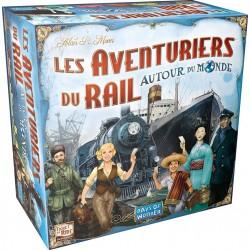 mighty-games-Les Aventuriers du Rail - Autour du Monde