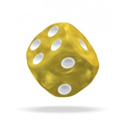 mighty-games-MARBLE - Oakie Doakie Dice - 36 dés D6 de 12 mm