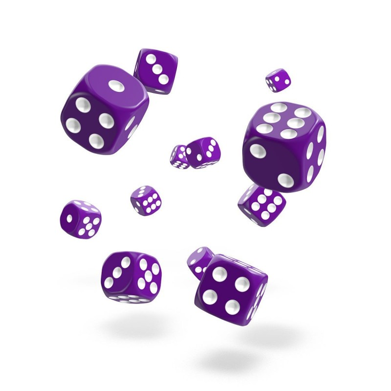 mighty-games-SOLID - Oakie Doakie Dice - 36 dés D6 de 12 mm