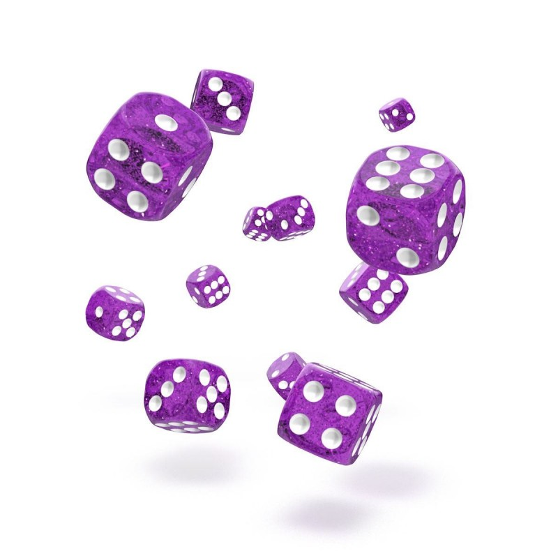 mighty-games-SPECKLED - Oakie Doakie Dice - 36 dés D6 de 12 mm