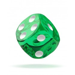 mighty-games-TRANSLUCENT - Oakie Doakie Dice - 36 dés D6 de 12 mm