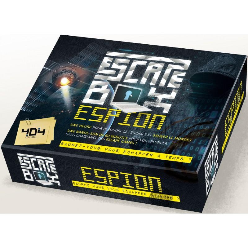 mighty-games-Escape Box - Spy