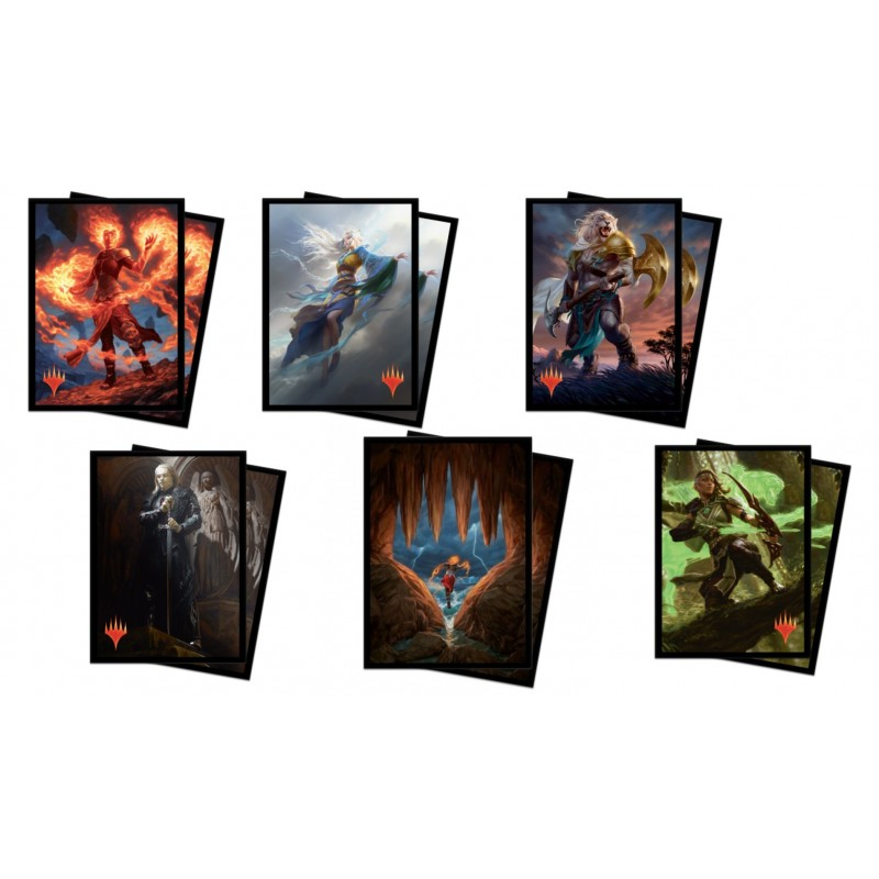 mighty-games-Sleeves / Fourres Ultra Pro - Magic 2020 (x100)
