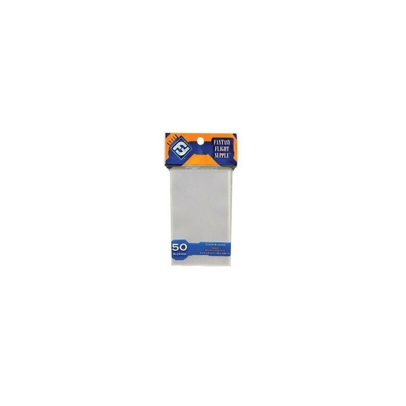 mighty-games-Clear Sleeves - tarot card game - orange