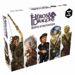 mighty-games-Héros & Dragons - Boite d'Initiation